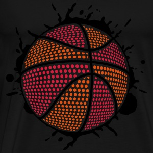 BASKETBALL SPLASH DUNK (C3P) by toneyshirts Tops - Männer Premium T-Shirt