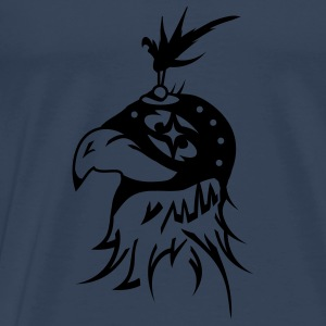 A falcon with hood for hawking Tops - Men's Premium T-Shirt