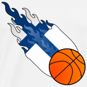 Fireball Basketball Finland - Men's Premium T-Shirt