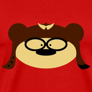 Teddy Bear goggles Tops - Men's Premium T-Shirt