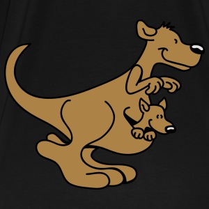 Happy Kangaroo Tops - Men's Premium T-Shirt