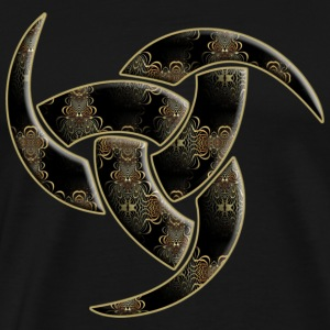 Triple Horn Of Odin - Ornament inside | Muskelshirt - Männer Premium T-Shirt