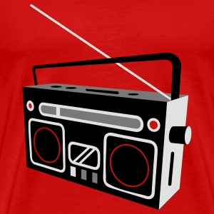 radio cassette recorder Tops - Men's Premium T-Shirt