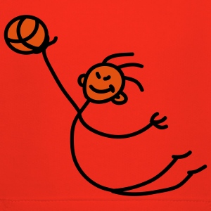 basketball_person_2c T-shirts - Premium-Luvtröja barn