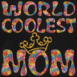 WORLD COLLEST MOM / Krone, crown | Tank Top - Männer Premium T-Shirt