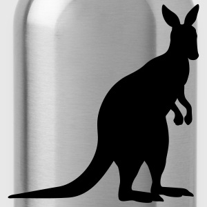 kangaroo animal T-Shirts - Trinkflasche