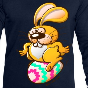 Bunny Sitting on an Easter Egg Tops - Men's Sweatshirt by Stanley & Stella