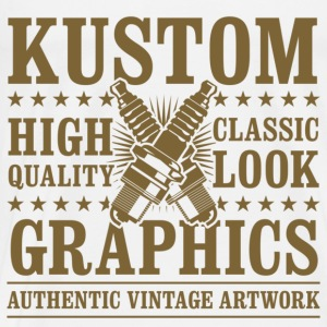 Kustom Graphics // Brown - Männer Premium T-Shirt