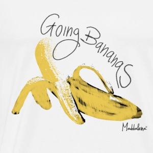 Going Bananas Tops - Mannen Premium T-shirt