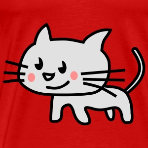 kitten blush Tops - Men's Premium T-Shirt