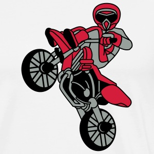 cool_bike_3c T-skjorter - Premium T-skjorte for menn