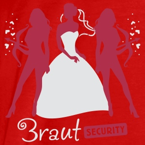 Braut Security 2C Tops - Männer Premium T-Shirt