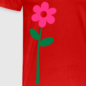 Flower Tops - Männer Premium T-Shirt