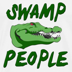 Swamp Alligators T-Shirts - Men's Premium T-Shirt
