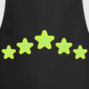 outline_stars_design_2c Tops - Cooking Apron
