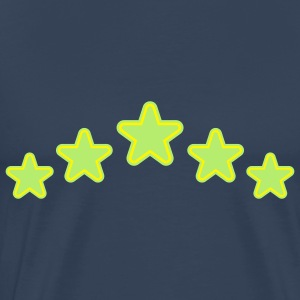 outline_stars_design_2c Tops - Männer Premium T-Shirt