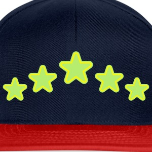 outline_stars_design_2c Tops - Snapback cap