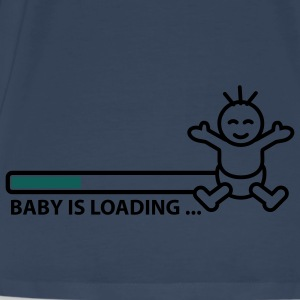 baby_is_loading_text_version_2c Tops - Männer Premium T-Shirt