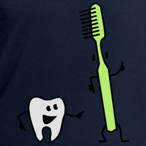 tooth and toothbrush Tops - Men's Sweatshirt by Stanley & Stella