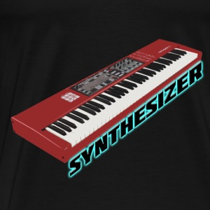Synthesizer Electro Keyboard Tops - Männer Premium T-Shirt