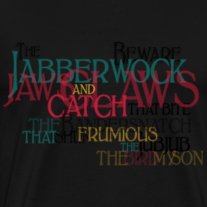 Typo Shirt - Carrol: Jabberwocky Tops - Men's Premium T-Shirt