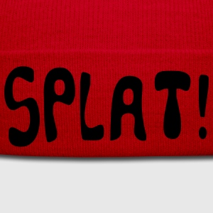 cartoon splat T-shirts - Bonnet d'hiver