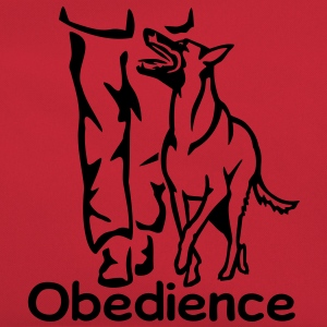 283 Obedience Malinois T-Shirts - Retro Tasche