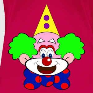 Clown Toppar - Premium-T-shirt dam