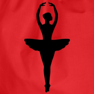 Ballet Dancer Tops - Drawstring Bag