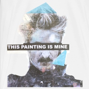 this painting is mine Tops - Männer Premium T-Shirt