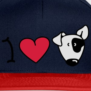 I love dogs Tops - Gorra Snapback