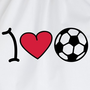 I love football Tops - Gymtas