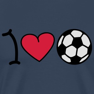 I love football Tops - Men's Premium T-Shirt