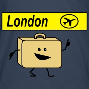 suitcase london Tops - Men's Premium Longsleeve Shirt
