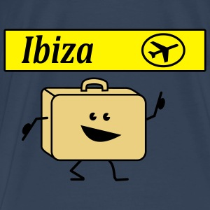 suitcase ibiza Tops - Men's Premium T-Shirt