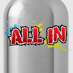 All in Graffiti T-Shirt - Vattenflaska