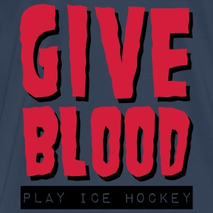 'Give Blood Play Ice Hockey' Débardeur fines bretelles Femme - T-shirt Premium Homme