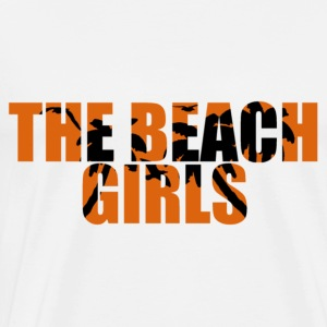 the beach girls Topper - Premium T-skjorte for menn