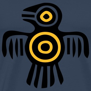 indian_culture_bird2 Tops - Men's Premium T-Shirt