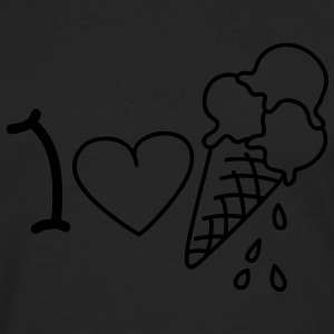 I love icecream T-Shirts - Männer Premium Langarmshirt