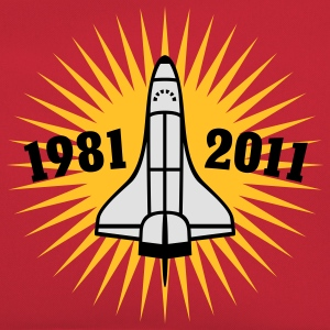 Shuttle | 1981 | 2011 T-Shirts - Retro-tas