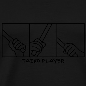 Taiko Drum Hands T-Shirts - Men's Premium T-Shirt