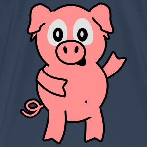 pig Topper - Premium T-skjorte for menn