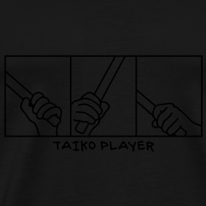Taiko Drum Hands Tops - Männer Premium T-Shirt