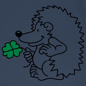 The little hedgehog with the clover leaf Tops - Men's Premium T-Shirt