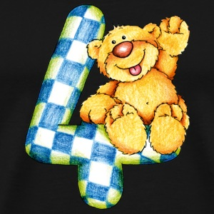Sweet little bear and the 4 Toppar - Premium-T-shirt herr
