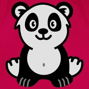 Cute panda bear Tops - Women's Premium T-Shirt