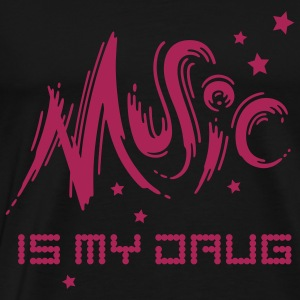 Music is my Drug - Männer Premium T-Shirt