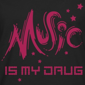 Music is my Drug - Men's Premium Longsleeve Shirt