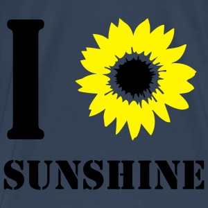Sunshine I love / I heart sunshine.  Tops - Men's Premium T-Shirt